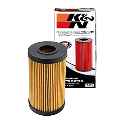 K&N Premium Oil Filter: Designed to Protect your Engine: Fits Select 2005-2020 LEXUS/TOYOTA/FORD (LC500, LX570, GS F, RC F, IS F, Camry, Land Cruiser, Sequoia, Tundra, Escape), PS-7018: Automotive