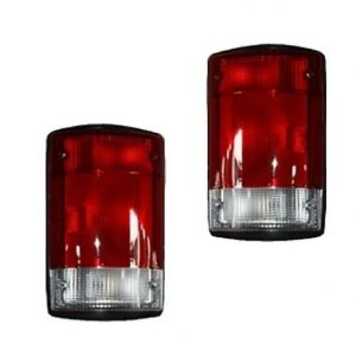 - 1995-2007 Ford E150 E250 E350 Econoline Van & 2000-2005 Excursion Taillight Taillamp Rear Brake Tail Light Lamp Pair Set Right Passenger AND Left Driver Side (1995 95 1996 96 1997 97 1998 98 1999 99 2000 00 2001 01 2002 02 2003 03 2004 04 2005 05 2006 06 2007 07)