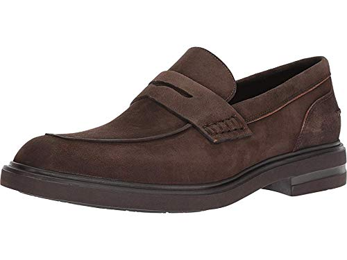 Donald J Pliner Men's Edmund Expresso Washed Suede 9.5 M US