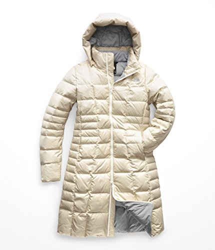 The North Face Women's Metropolis Parka II Vintage White Small (Fleece Parka)