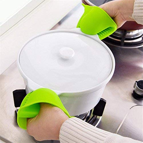 - Bumatech Kitchen Tools & Gadgets - Kcasa Kc-Sg2 Silicone Gloves Oven Heat Insulated Finger Microwave Non-Slip Gripper Pot Holder 1 Pcs - Silicone Grilling Gloves Best Heat Resistant Grill - Bbq
