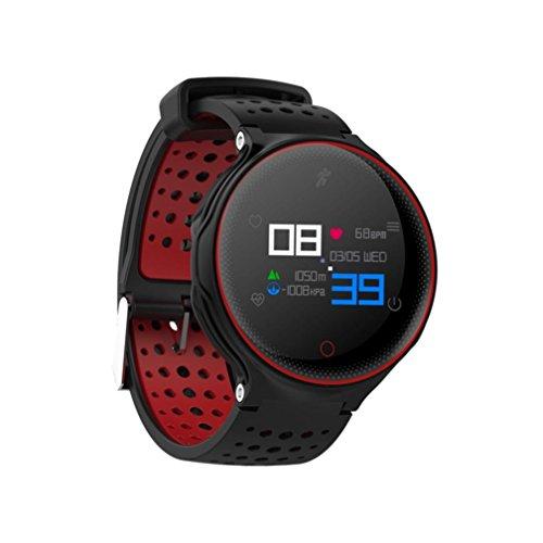 X2 Sports Smart Watch Heart Rate Blood Pressure Monitor Waterproof Bracelet by Sunfei (Red) by ®Sunfei (Image #2)