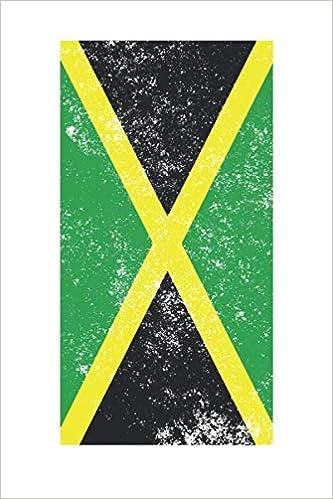 Jamaica Flag: Blank Lined Jamaica Flag Notebook for Jamaican