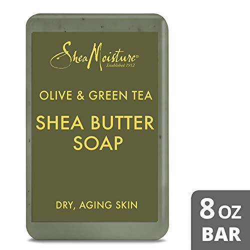 SheaMoisture Olive & Green Tea Shea Butter Soap - 8 oz ()