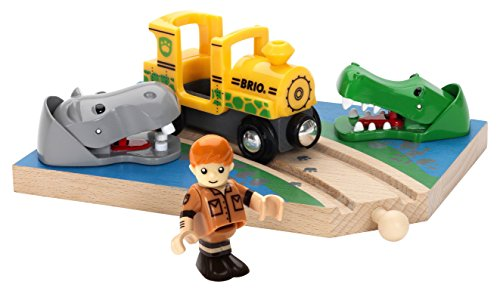 Brio Safari Crossing Train Set
