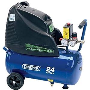 Draper DA25/169 – Compresor de aire (1100 vatios, 24 voltios)