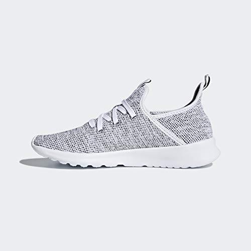 adidas Performance Women's Cloudfoam Pure Running Shoe, White/White/Black, 8 M US