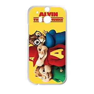 Alvin and the Chipmunks HTC One M8 Cell Phone Case White F2948244
