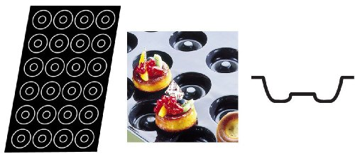 Flexipan 336015 Savarin Nonstick Sheet Mold by Matfer Bourgeat