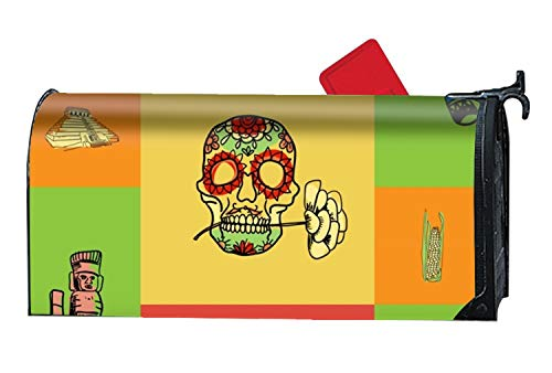 Mexico Squared Magnetic Mailbox Cover by MAYS