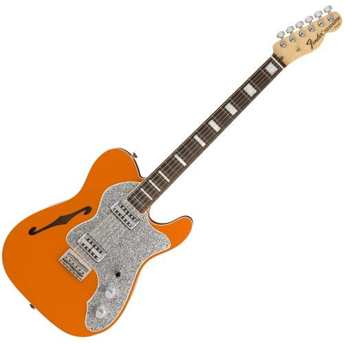 Fender Limited Edition Parallel Universe Tele Thinline Super Deluxe – Orange w/Rosewoo