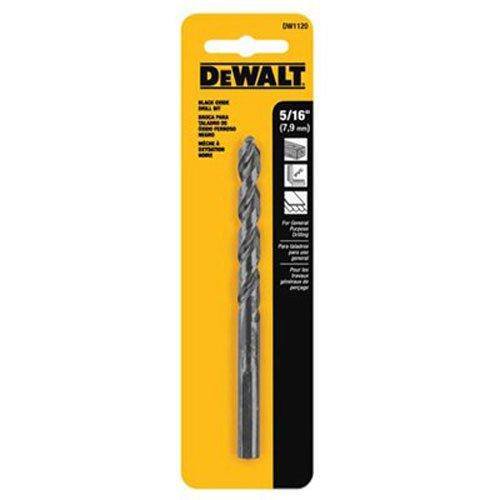 DEWALT DW1120 5//16-Inch Black Oxide Split Point Twist Drill Bit
