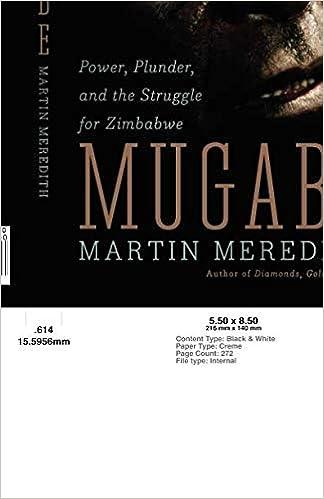 Amazon com: Mugabe (9781586485580): Martin Meredith: Books
