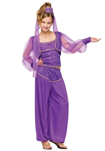 Girls Dreamy Genie Costumes - Fun World Dreamy Genie Costume Medium (8-10)