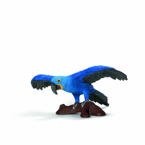 Schleich Hyacinth Macaw Toy Figure