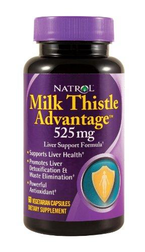Avantage Natrol chardon-Marie, 525 mg 60 capsules