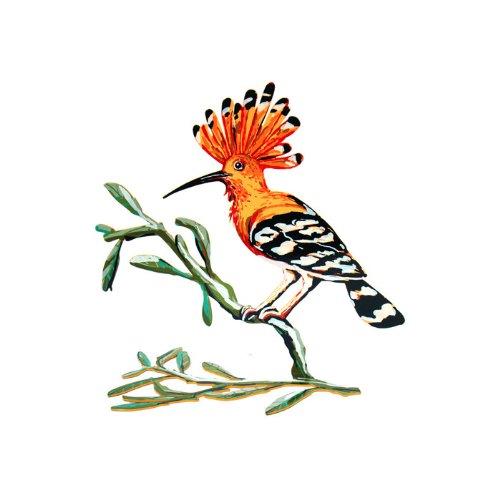 David Gerstein Hoopoe Bird Sculpture