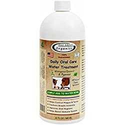 Mad About Organics All Natural Dog & Cat Daily Oral Care Liquid Plaque & Tartar Remover 32oz