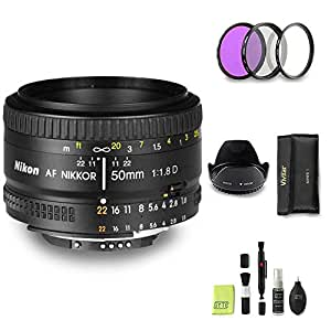 GYTE Bundle | Objetivo Nikon - AF Nikkor 50mm f/1.8D: Amazon.es ...