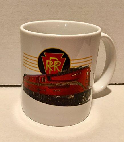 - COFFEE MUG - PRR GG1 Pennsylvania Railroad RED