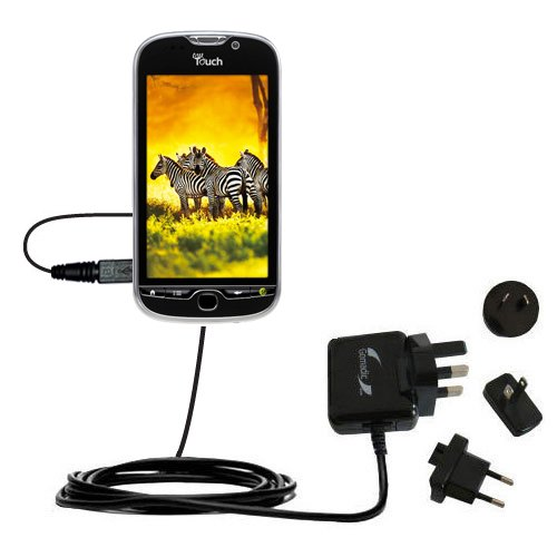 International Wall Charger compatible with the T-Mobile myTouch HD