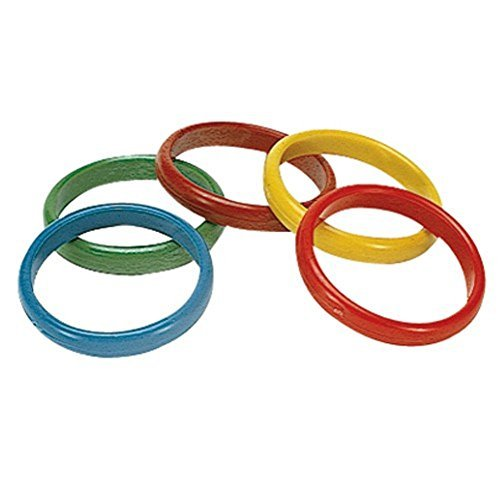 US Toy S&S Worldwide Plastic Throw Rings (12 Pack) -