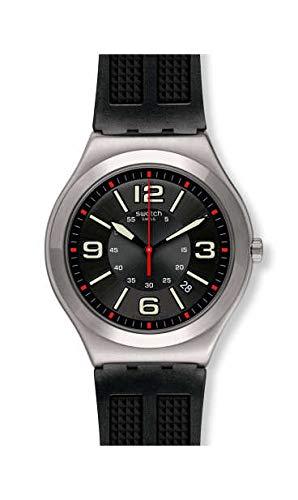 Swatch Reloj Analógico para Hombre de Cuarzo con Correa en Caucho YWS444: Amazon.es: Relojes