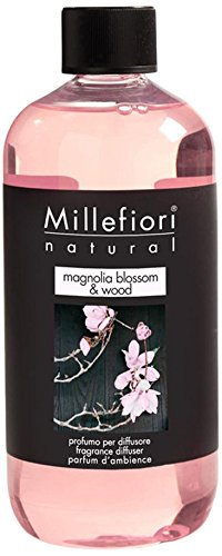 Natural Wood Series Natural - Millefiori Natural Fragrance Diffuser Refill - Magnolia Blossom & Wood 250ml/8.45oz