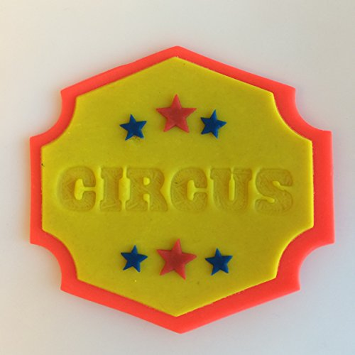 Circus Sign 266-116 Cookie Cutter Set (Plastic, 3 inch) (Cutters Circus Cookie)