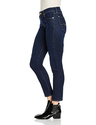 Mid Roxanne bair para Blue All Mankind mujer Jeans Indigo 0ha Rinsed For Rise 7 v1XtW