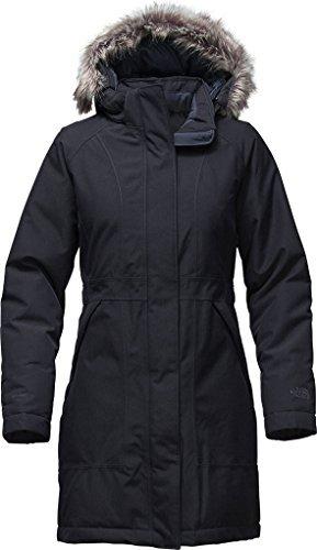 Ladies Urban Down Jacket - The North Face Women's Arctic Parka Urban Navy Heather (Prior Season) X-Small