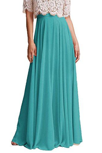 edd89b5766bf Honey Qiao Chiffon Maxi Skirt Bridesmaid Dresses Long High Waist Floor/Ankle  Length Elastic Woman Dresses with Belt
