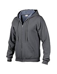 HeavyBlend™ vintage classic full zip hooded sweatshirt