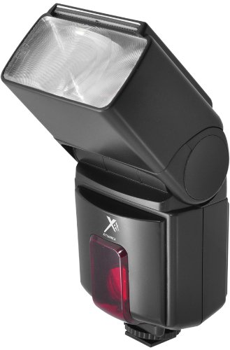 Xit XT500EX Pro Series Digital Dedicated AF Flash with Zoom, Bounce, Swivel and Slave - Canon (Black)
