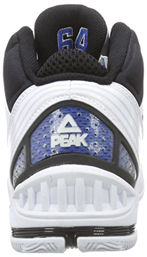 Peak Sport Europe Peak Basketballschuh Mickael Pietrus Herren Basketballschuhe Weiß (White/Royal)