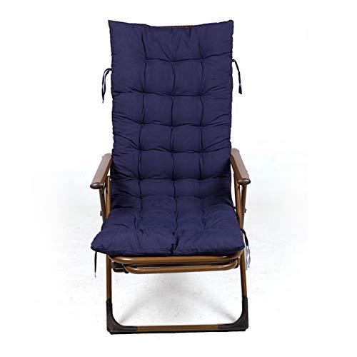 Ritaba Plush Wicker Chair seat Cushion Pad Rocking Chair Cushion Set High Back Chair Cover Chaise Lounge Cushion for Bench Bay Window Basket Chair-B 122x50x8cm(48x20x3inch) ()