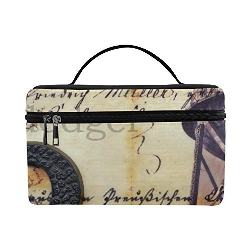 (Creartful Dodger Collage This End Up Brid Collage Pattern Lunch Box Tote Bag Lunch Holder Insulated Lunch Cooler Bag For Women/men/picnic/boating/beach/fishing/school/work)