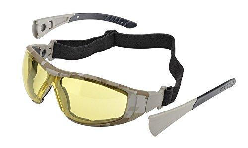 Elvex Go-Specs II, Digital Desert Camo Frame - Amber Anti-Fo