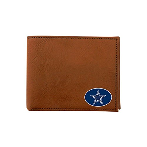 NFL Dallas Cowboys Classic Football Wallet, One Size, Brown by GameWear