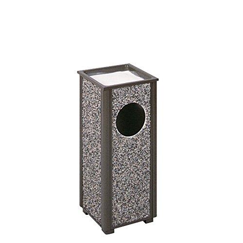 (Rubbermaid Commercial Products FGR416000PL Aspen Series Ash/Trash Refuse Receptacle (2.5-Gallon, Bronze))