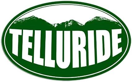 1503862389 Oval CafePress Telluride Mountain Sticker