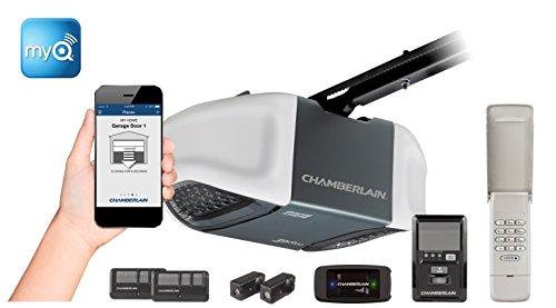 Chamberlain MyQ-enabled Whisper Drive Garage Door Opener Bun