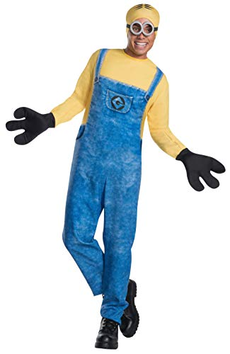 Rubie's Costume Co Men's Despicable Me 3 Movie Minion Costume, As Shown, X-Large -