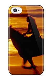 Ernest Burke Case Cover For Iphone 4/4s - Retailer Packaging Horse Protective Case