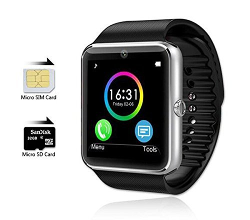Mgaolo-GT08-Bluetooth-Smart-Watch-Smartwatch-Bracelet-with-Camera-SIM-Card-Slot-and-Camera-Pedometer-Smart-Health-Watch-for-Android-and-IOS-Apple-iphone-Smartphone