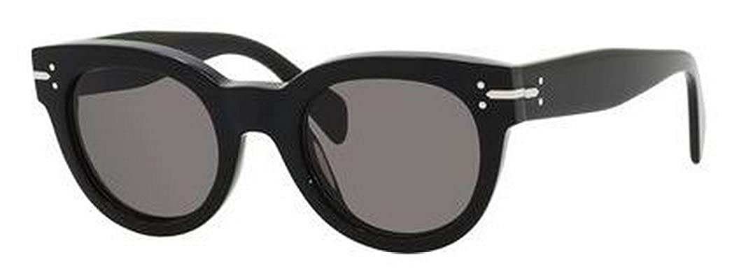9b5f1afafcecf Celine 41040S 807 Black New Butterfly Cats Eyes Sunglasses Lens Category 3   Amazon.co.uk  Clothing