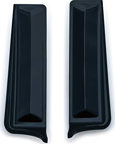 Kuryakyn 6981 Gloss Black Motorcycle Accent, 2 Pack ()