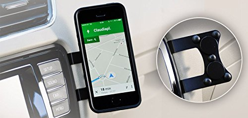 Mag n Mount Magnetic Cell Phone Holder-no drilling, no gluing, no suction cup