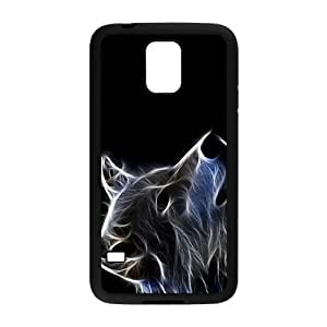 Abstract Wolf Pattern Custom Protective Hard Phone Cae For Samsung Galaxy S5