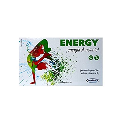 SORIA NATURA - ENERGY HOMEOSOR 20 VIALES 10 ML
